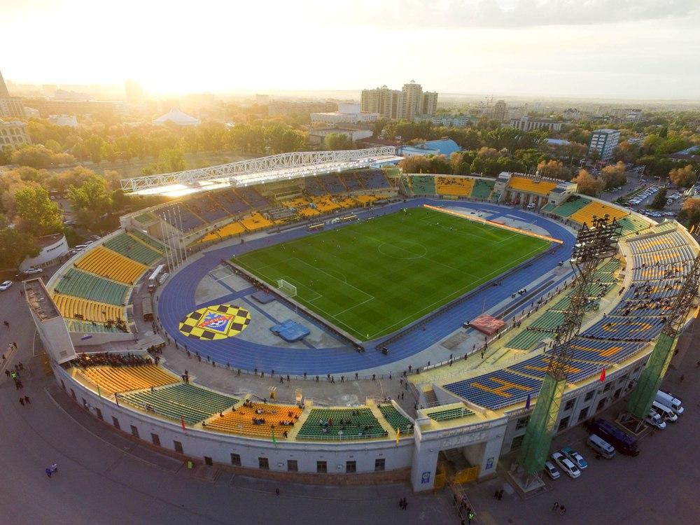 Центральный стадион г. Алматы
